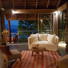 Отель Villa Manatea - Moorea Французская Полинезия, Папеэте - отзывы, цены и фото номеров - забронировать отель Villa Manatea - Moorea онлайн комната для гостей фото 4