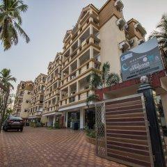 Отель OYO 12953 Home Pool View 2BHK Arpora Гоа парковка