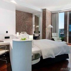 Отель Hilton Madrid Airport Мадрид комната для гостей фото 3