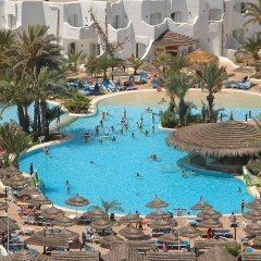 Отель Fiesta Beach Djerba - All Inclusive Тунис, Мидун - 2 отзыва об отеле, цены и фото номеров - забронировать отель Fiesta Beach Djerba - All Inclusive онлайн бассейн фото 2