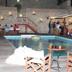 Отель Asion Lithos бассейн