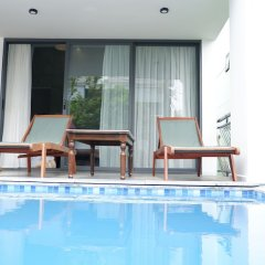 Отель An Bang Seasnail Homestay бассейн