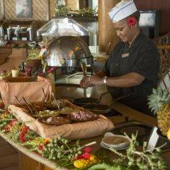 Отель Hilton Moorea Lagoon Resort and Spa питание