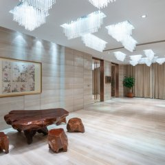 Отель Holiday Inn Express Shanghai New Hongqiao фитнесс-зал