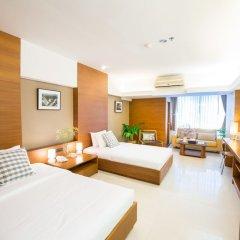 Апартаменты Laemtong Service Apartment комната для гостей фото 3