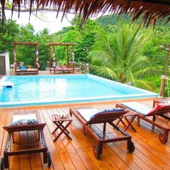 Отель Koh Tao Toscana Таиланд, Остров Тау - отзывы, цены и фото номеров - забронировать отель Koh Tao Toscana онлайн бассейн фото 2
