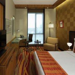 Radisson Blu Hotel, Dubai Media City 4* Улучшенный номер с различными типами кроватей фото 4