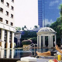 Отель Orchard Parksuites Сингапур, Сингапур - отзывы, цены и фото номеров - забронировать отель Orchard Parksuites онлайн бассейн фото 3