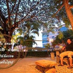 Отель Sunsmile Resort Pattaya Паттайя спортивное сооружение