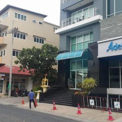Апартаменты AN Apartment Паттайя вид на фасад