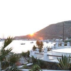 Отель Olia Hotel Греция, Турлос - 1 отзыв об отеле, цены и фото номеров - забронировать отель Olia Hotel онлайн приотельная территория
