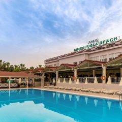 Armas Green Fugla Beach Турция, Аланья - отзывы, цены и фото номеров - забронировать отель Armas Green Fugla Beach онлайн бассейн фото 2
