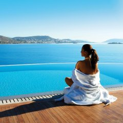 Отель Grand Resort Lagonissi бассейн фото 3