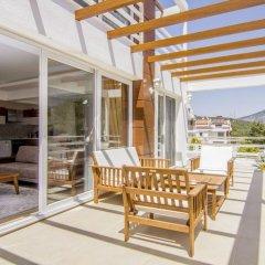 Luxury Villa 1 with Private Pool Турция, Олудениз - отзывы, цены и фото номеров - забронировать отель Luxury Villa 1 with Private Pool онлайн балкон