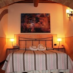 Отель Locanda La Mandragola Италия, Сан-Джиминьяно - отзывы, цены и фото номеров - забронировать отель Locanda La Mandragola онлайн комната для гостей фото 4