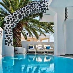 Отель Galatia Villas Греция, Остров Санторини - отзывы, цены и фото номеров - забронировать отель Galatia Villas онлайн бассейн фото 3