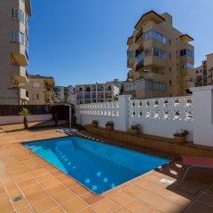 Отель Agi las Acacias Испания, Курорт Росес - отзывы, цены и фото номеров - забронировать отель Agi las Acacias онлайн бассейн фото 3