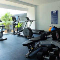 Отель Nam Talay Jomtien Beach Паттайя фитнесс-зал фото 2