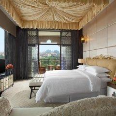 Отель Sheraton Qingyuan Lion Lake Resort комната для гостей