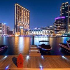 Отель The Address Dubai Marina Дубай приотельная территория фото 2