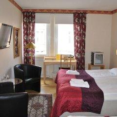 Отель Solsta Hotell Швеция, Карлстад - отзывы, цены и фото номеров - забронировать отель Solsta Hotell онлайн комната для гостей фото 2