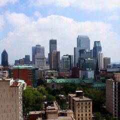 Отель Du Fort Hotel Канада, Монреаль - отзывы, цены и фото номеров - забронировать отель Du Fort Hotel онлайн балкон