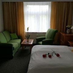 Отель Pension Am Stadtrand Германия, Лейпциг - отзывы, цены и фото номеров - забронировать отель Pension Am Stadtrand онлайн комната для гостей фото 4