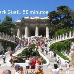 Отель Atico Terraza And Barbacoa Park Guell Барселона помещение для мероприятий