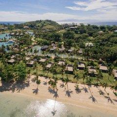 Отель Musket Cove Island Resort & Marina пляж