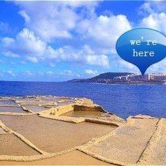 Отель Blue Holiday Gozo Мальта, Зеббудж - отзывы, цены и фото номеров - забронировать отель Blue Holiday Gozo онлайн пляж фото 2