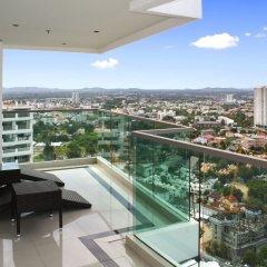 Отель Wong Amat Tower Apt.909 Паттайя балкон