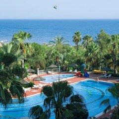 Отель Defne Garden пляж
