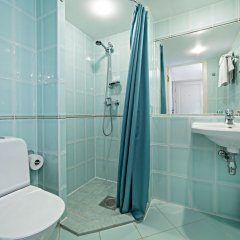 Отель Taanilinna Hotel Эстония, Таллин - 11 отзывов об отеле, цены и фото номеров - забронировать отель Taanilinna Hotel онлайн ванная
