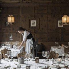 Отель Das Central – Alpine . Luxury . Life питание