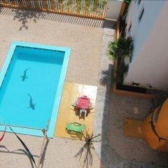Отель Hostel Punta Sam Мексика, Плайя-Мухерес - отзывы, цены и фото номеров - забронировать отель Hostel Punta Sam онлайн бассейн фото 3