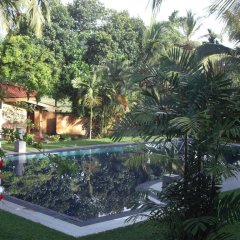 Отель SeethaRama Ayurveda Resort бассейн
