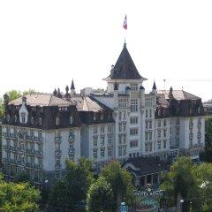 Отель Royal Savoy Lausanne балкон
