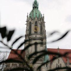 Отель FIDELIO Мюнхен приотельная территория