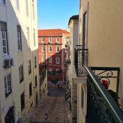 Апартаменты The Bonsai Apartment at Glamorous Chiado балкон