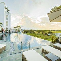 Отель Lasenta Boutique Hotel Hoian Вьетнам, Хойан - отзывы, цены и фото номеров - забронировать отель Lasenta Boutique Hotel Hoian онлайн бассейн фото 2