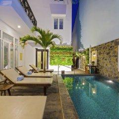 Отель Golden Palm Villa Вьетнам, Хойан - отзывы, цены и фото номеров - забронировать отель Golden Palm Villa онлайн бассейн фото 2