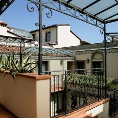 Отель Montebello Splendid Hotel Италия, Флоренция - 12 отзывов об отеле, цены и фото номеров - забронировать отель Montebello Splendid Hotel онлайн балкон