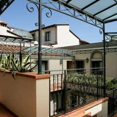 Отель Montebello Splendid Флоренция балкон