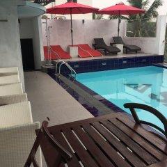 Отель Sansu Шри-Ланка, Коломбо - отзывы, цены и фото номеров - забронировать отель Sansu онлайн бассейн фото 2