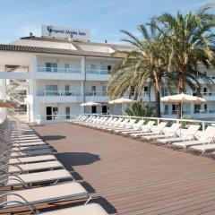 Отель Grupotel Alcudia Suite пляж