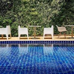 Dinso Mon Hotel Бангкок бассейн фото 2