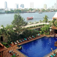 Отель Ramada Plaza by Wyndham Bangkok Menam Riverside бассейн фото 2
