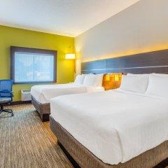 Отель Holiday Inn Express Ex I-71 / OH State Fair / Expo Center США, Колумбус - отзывы, цены и фото номеров - забронировать отель Holiday Inn Express Ex I-71 / OH State Fair / Expo Center онлайн комната для гостей фото 4