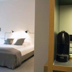 Отель Apartment040 Averhoff Living Гамбург сейф в номере