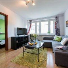 Отель P&O Apartments Emilii Plater Польша, Варшава - отзывы, цены и фото номеров - забронировать отель P&O Apartments Emilii Plater онлайн комната для гостей фото 2